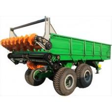 Машина для внесения твердых органических удобрений ПРТ-10