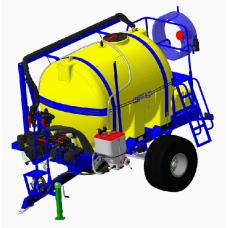 Машина для смешивания раствора и заправки опрыскивателя ТОПАЗ-5