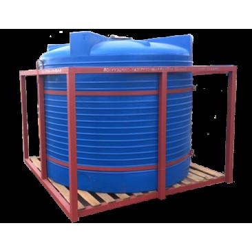 Кассета для подвоза воды,  КАС и ЖКУ 1х4500Т blue