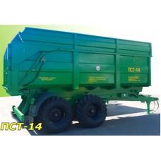Полуприцеп тракторный самосвальный ПСТ-14
