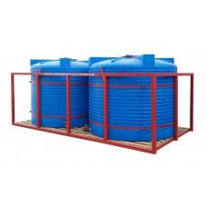 Кассета для перевозки воды, КАС и ЖКУ 2х4500Т blue (макс. 10000)