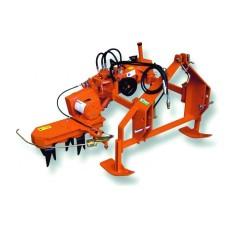 Культиватор  для приствольной обработки почвы Rinieri EL115 с опорными салазками