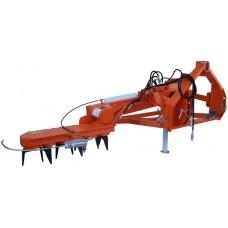 Культиватор  для приствольной обработки почвы Rinieri EL170/100 с опорными колесами