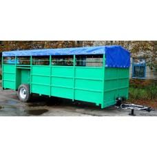 Полуприцеп для транспортировки скота ТПС-6У