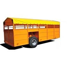 Полуприцеп для транспортировки скота ТПС-6