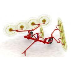 Грабли колесно-пальцевые прицепные ГКП-6,1М-6