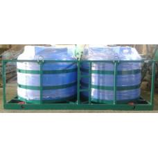 Кассета для подвоза воды и КАС 5000х2S2 в усиленном каркасе