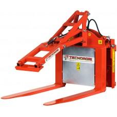 Опрокидыватель контейнеров гидравлический Tecnoagri ARM с гидравличесим прижимом